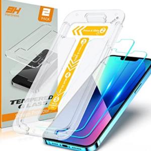 Amazon - STOON iPhone 13/13 Pro 钢化膜 2片装 ,立减$6