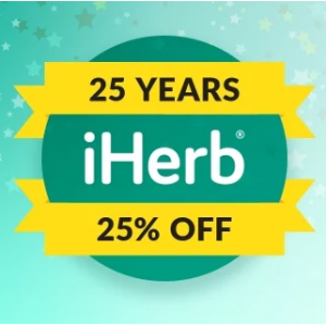 25% Off Sitewide Sale @ iHerb