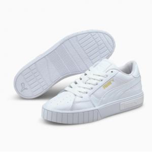 Puma Cali Star 纯白女款板鞋37折热卖 两色可选