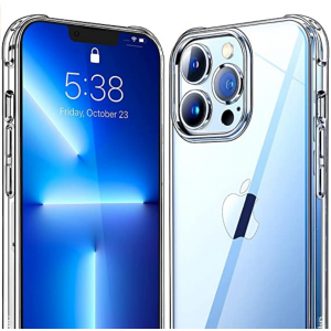 Mkeke Shockproof Protective Cases with iPhone 13 Pro Max Case Clear for $2.87 @Amazon