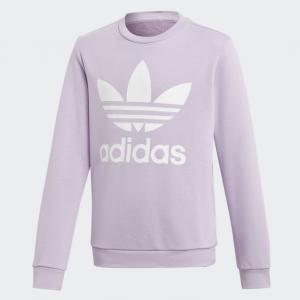 58% off adidas Originals Trefoil Crew Sweatshirt Kids' @ eBay US