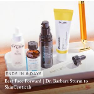 Skincare Sale (La Mer, Lancome, SkinCeuticals, SK-II, Shiseido, Dr. Barbara Sturm) @ Rue La La