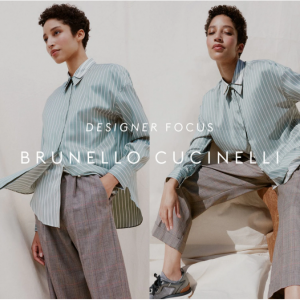 Up To 70% Off Brunello Cucinelli Sale @ THE OUTNET US