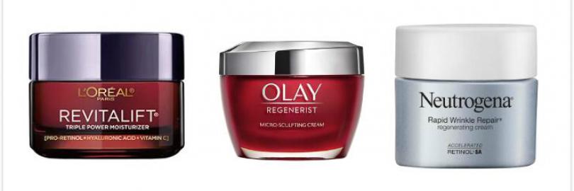 Which Is Best for You? L'Oreal Revitalift vs. Olay Regenerist vs. Neutrogena Rapid Wrinkle Repair?