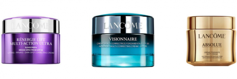 Lancôme Renergie vs. Visionnaire vs. Absolue: Which Cream Is Best for Aging Skin?