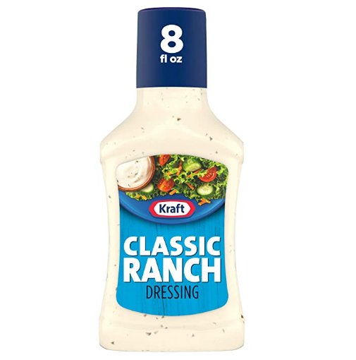Kraft Classic Ranch Salad Dressing (8 fl oz Bottle) @ Amazon
